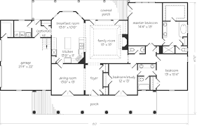 Southern Living Floorplans Rustic Oaks John Tee Architect Southern Living House Plans
