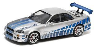 Nissan Gtr 1999 - fast u0026 furious movie 1999 nissan skyline 1 43 scale ebay