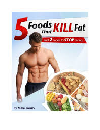 5 foods to lose belly fat