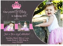 birthday invitation templates princess 1st birthday invitations