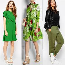 what color goes with green color shoes to wear with green dress