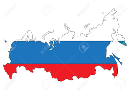 Russia Map Russia Map With Flag Royalty Free Cliparts Vectors And Stock