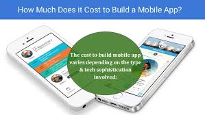 How Much Does It Cost How Much Does It Cost To Build A Mobile App For Iphone U0026 Android