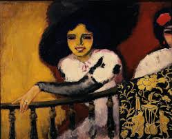 The Banister Kees Van Dongen Woman At The Banister Artsy