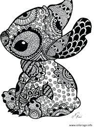 Animaux A Colorier Mandala A Mandala Stitch Tattoo Coloriage
