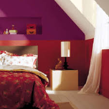 color combination in bed room with red home combo