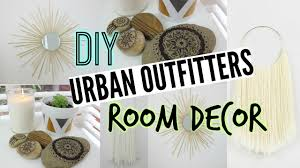 diy room decor urban outfitters inspired youtube