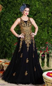Indian Wedding Dresses 20 Indian Wedding Dresses You Can Try This Season Black Maxi