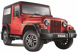 mahindra jeep price list mahindra thar di 4x2