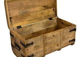 Wood Storage Ottoman Rustic Storage Ottoman Objectifsolidarite2017 Org