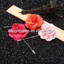 Lapel Flowers Stock Rose Flower Lapel Pin Custom Lapel Flower Pins For Men Buy