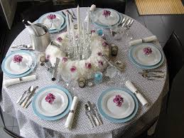 christmas table setting home decor waplag dining room design ideas