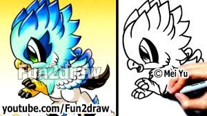 how to draw cool stuff fantasy hippogriff fun things to draw