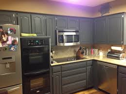 Diy Black Kitchen Cabinets Using Chalk Paint On Kitchen Cabinets Andrea Outloud
