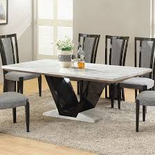 White Marble Dining Table Dining Room Furniture White Marble Dining Tables Modern Home Design