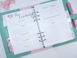 wedding planning book wedding planners admirable erin condren wedding planner