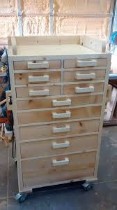 diy wood tool cabinet tool chest would love to replace my old metal chests with this