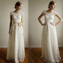 amazing simple lace beach wedding dresses cherry marry