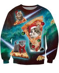 meowy christmas christmas crewneck sweatshirt ready to ship