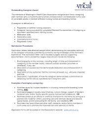 Sample Resume For Caregiver For An Elderly Care Giver Cover Letter 28 Images Caregiver Letter Of