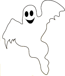 free printable ghost coloring pages kids clip art library
