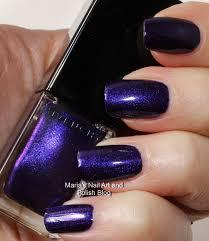 matte black glitter nail polish