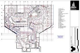 disney park blueprints phantom manor disneyland paris france