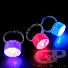 led light up rings light up led rainbow mood rings glow rings glowproducts com