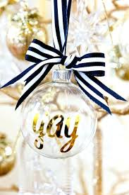clear glass ornaments decorating ideas top black and gold