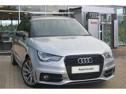 used audi ai for sale used 2014 14 reg silver metallic audi a1 1 4 tfsi s line