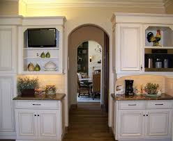 kitchen room brown granite tile countertop brown kitchen cabinet