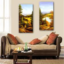 Painting Home Decor by Online Get Cheap Forest Paintings Oil Aliexpress Com Alibaba Group