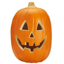 light up pumpkins for halloween sainsbury s halloween light up pumpkin large sainsbury s
