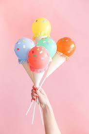 balloon sticks mini cone balloon sticks diy