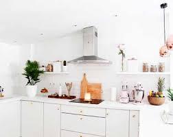 d馗oration cuisine blanche 8 idées déco pour égayer une cuisine blanche