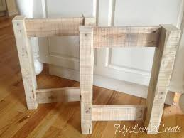 Laundry Bench Height Diy Upholstered Bench My Love 2 Create