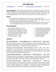 Communications Resume Sample by Sample Public Relations Manager Resume 1 Pr Manager Resume Sample