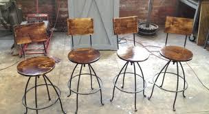 bar bar stool cushion with ties grey wooden swivel bar stools