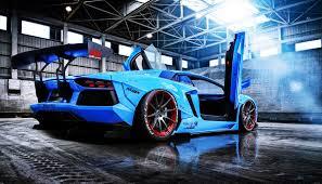 Lamborghini Aventador Neon - aventador beam blue cars doors lamborghini liberty lp720 4 motors