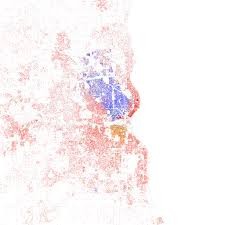 Ethnic Map Of Los Angeles by Race And Ethnicity 2010 Flickr