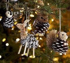 diy pine cone animal ornaments s mixing bowl