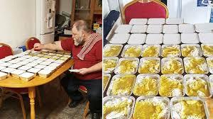 cuisine repas un retraité de 65 ans cuisine 50 repas par semaine pour les sans