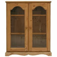 Pine Bookcase With Doors Bookcases With Glass Doors Uk Inspiration Yvotube Com