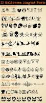 disney halloween printables 12 halloween dingbat fonts the scrap shoppe