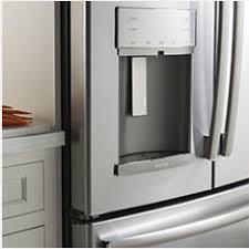 cabinet depth refrigerator lowes shop refrigerators at lowes com