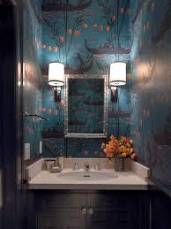 Teal Powder Room Rooms Viewer Hgtv