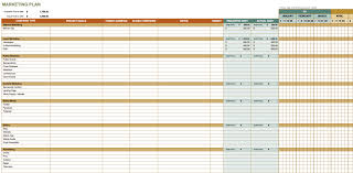 Free Excel Project Management Tracking Templates by Free Marketing Plan Templates For Excel Smartsheet