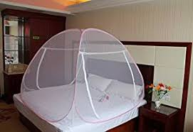 Net Bed Royal Foldable Double Bed Mosquito Net Pink Amazon In Garden