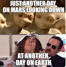 Al Meme - weird al and aliens imgflip