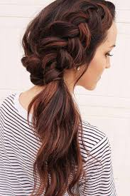 layer hair with ponytail at crown feel as a princess with our 24 side ponytail looks side ponytails